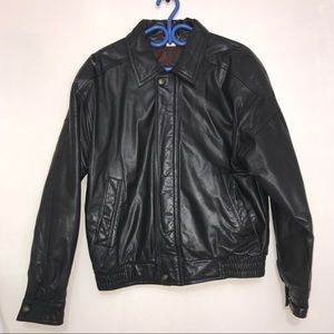 Danier Motorcycle Italian Leather Sports Jacket